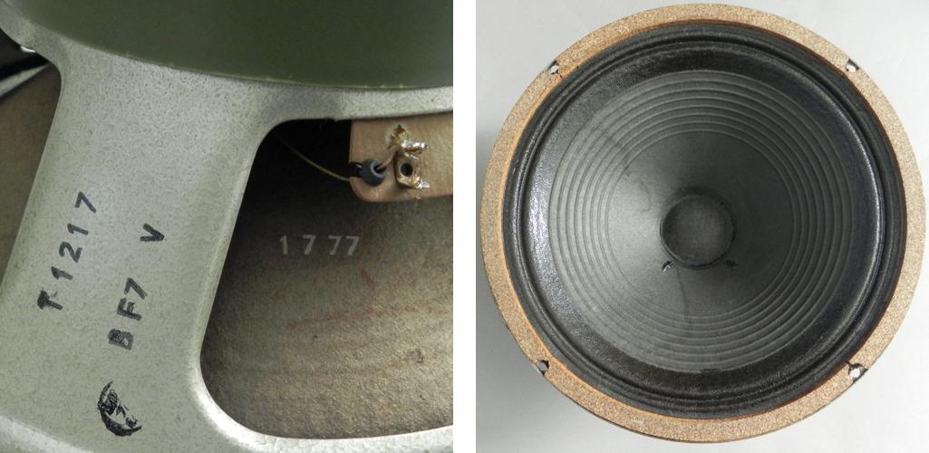 1777 stamped Pulsonic cone - not a Kurt Mueller!