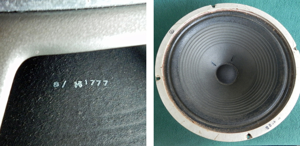 An early H1777 Pulsonic cone