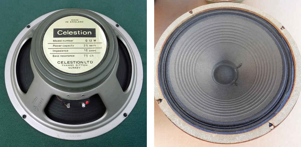 Celestion greenback T1221