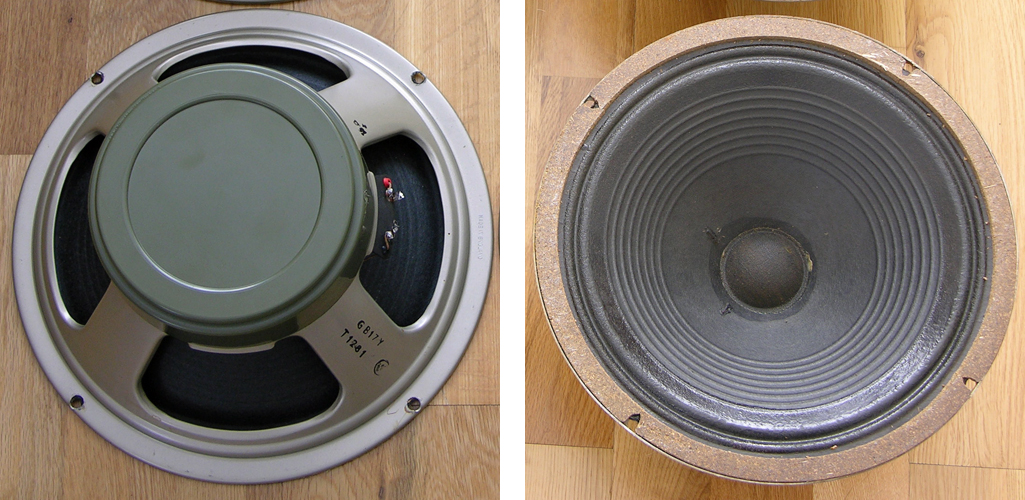 Celestion greenback 55Hz G12H