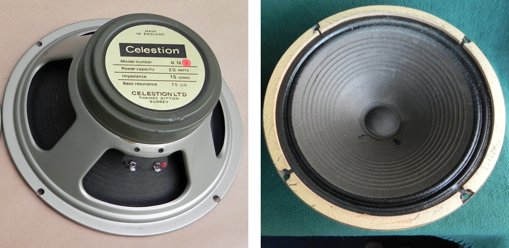 Celestion greenback G12S 55Hz