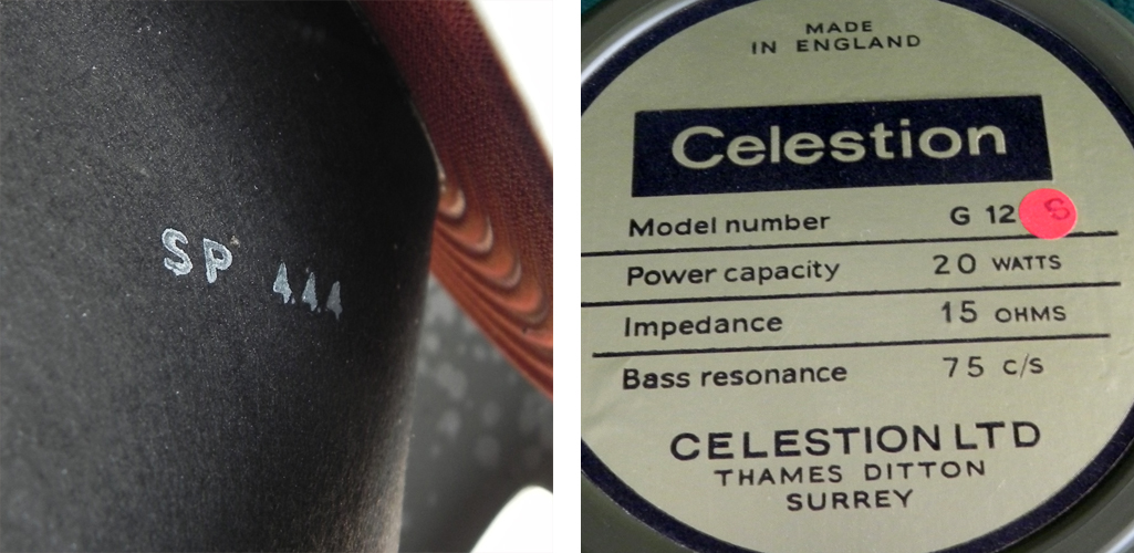 Celestion T1440 pulsonic cone