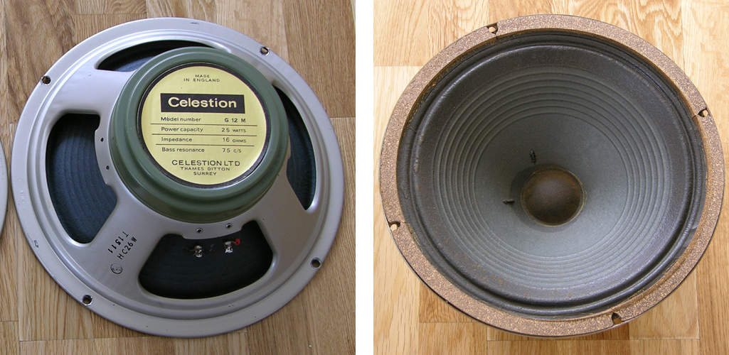Celestion greenback 55Hz G12M