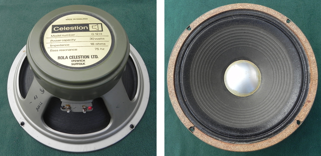 Celestion greenback T1976 G12H