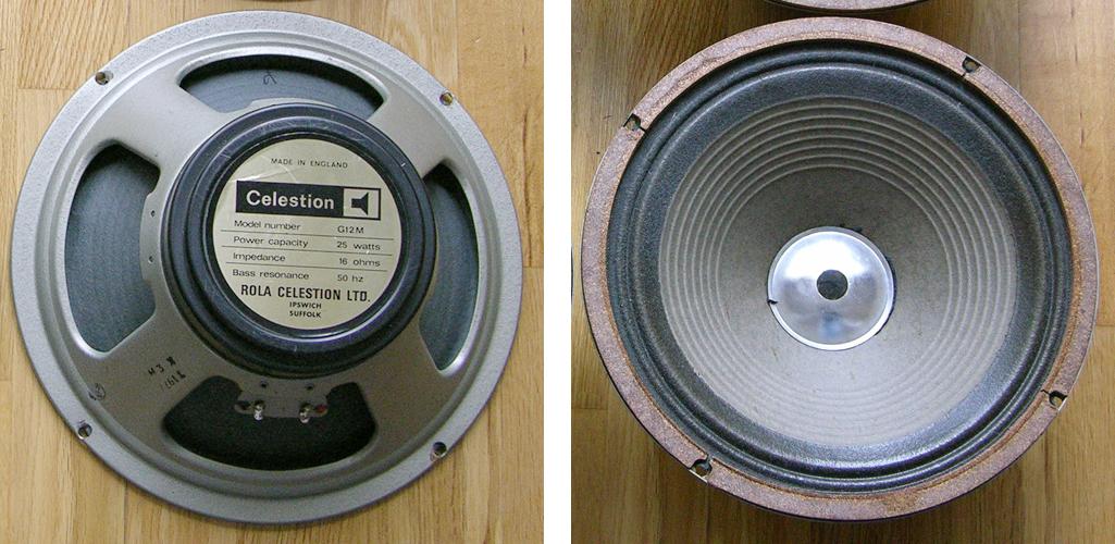 Celestion blackback T1977 G12M