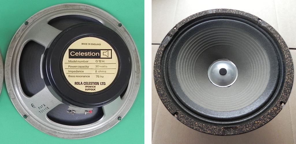 Celestion blackback T2115 Kurt Mueller
