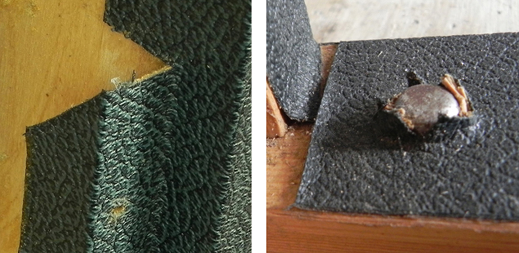 Green on black vs black tolex