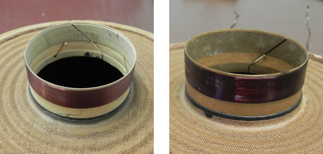 white coil vs brown coil
