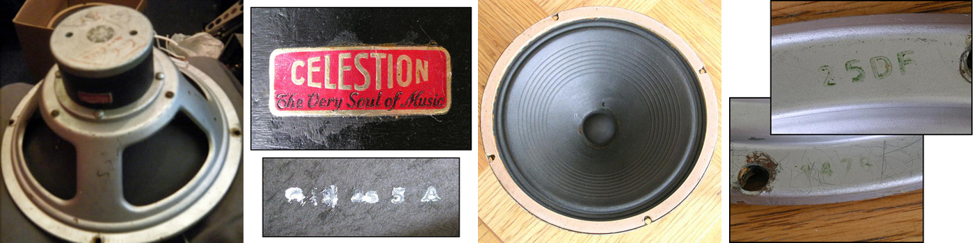 Rola Celestion model 1478 dated 1949
