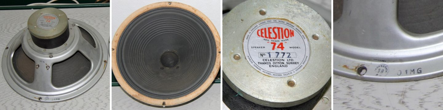 Rola Celestion P74 alnico dated 1950