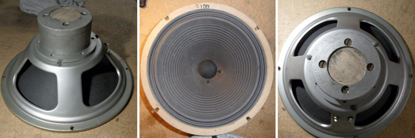 Rola Celestion B025 alnico G12 dated 1959