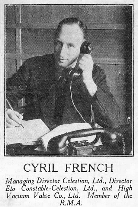 Celestion History - Cyril French