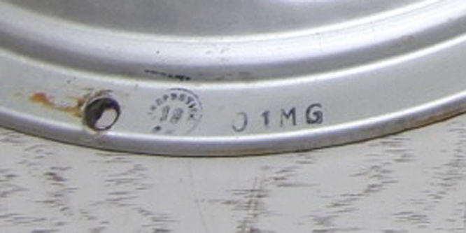 01MG = 1st December 1950