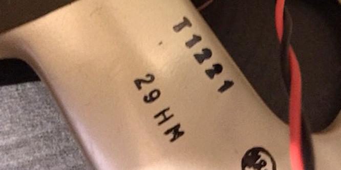 Fake: 29HM = 29th August 1967