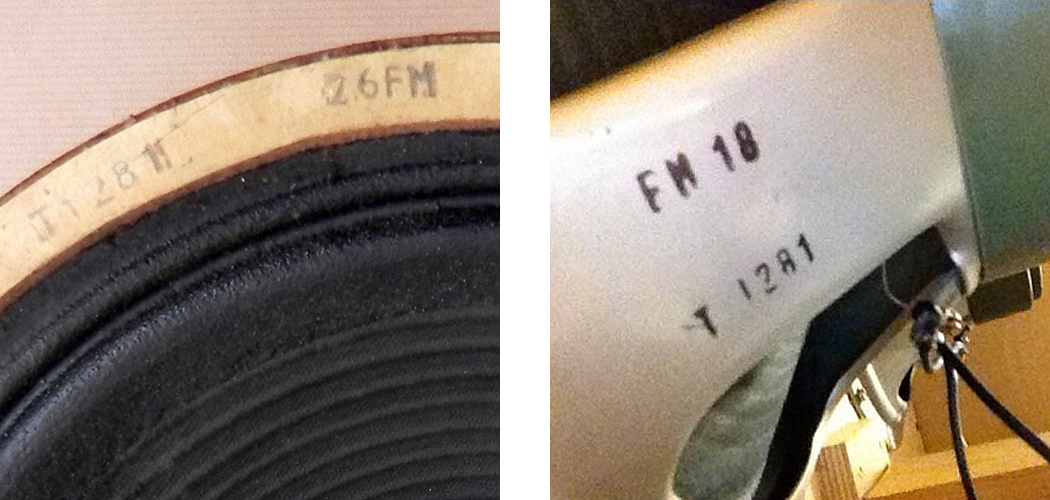 Genuine vs Fake Vintage Celestion Date Codes - 1967