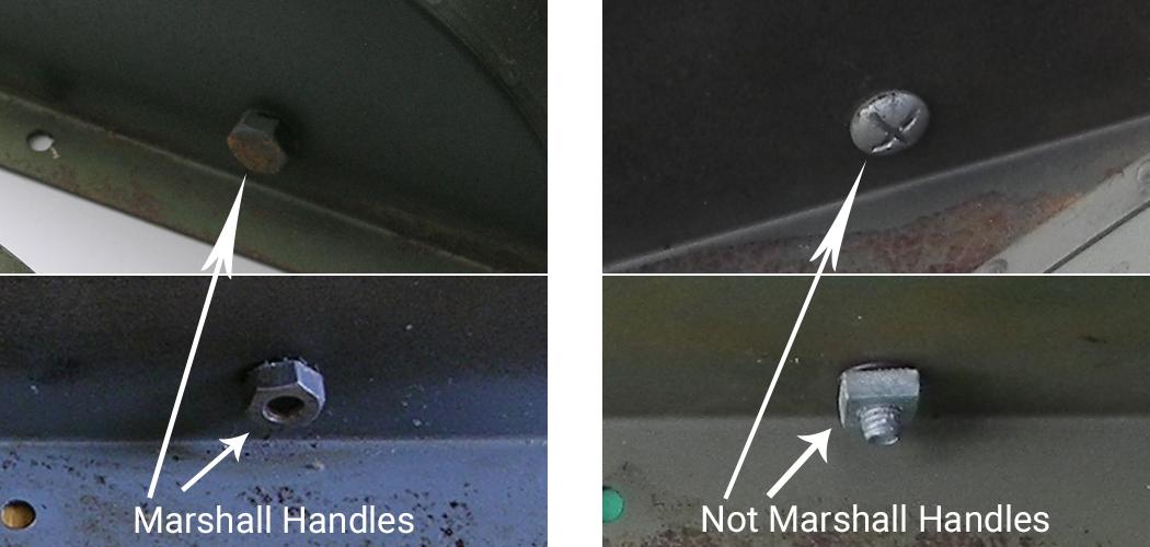 handle comparison