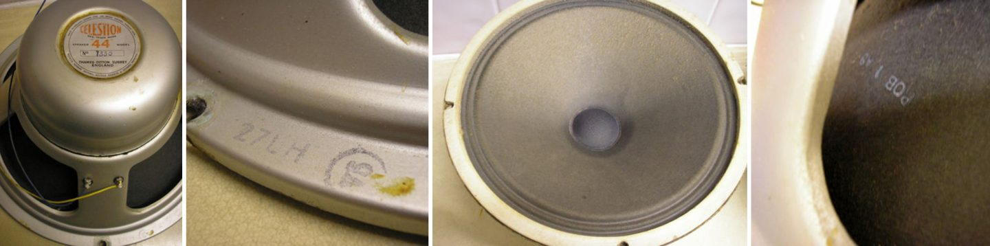 Rola Celestion P44 Speaker dated 1951