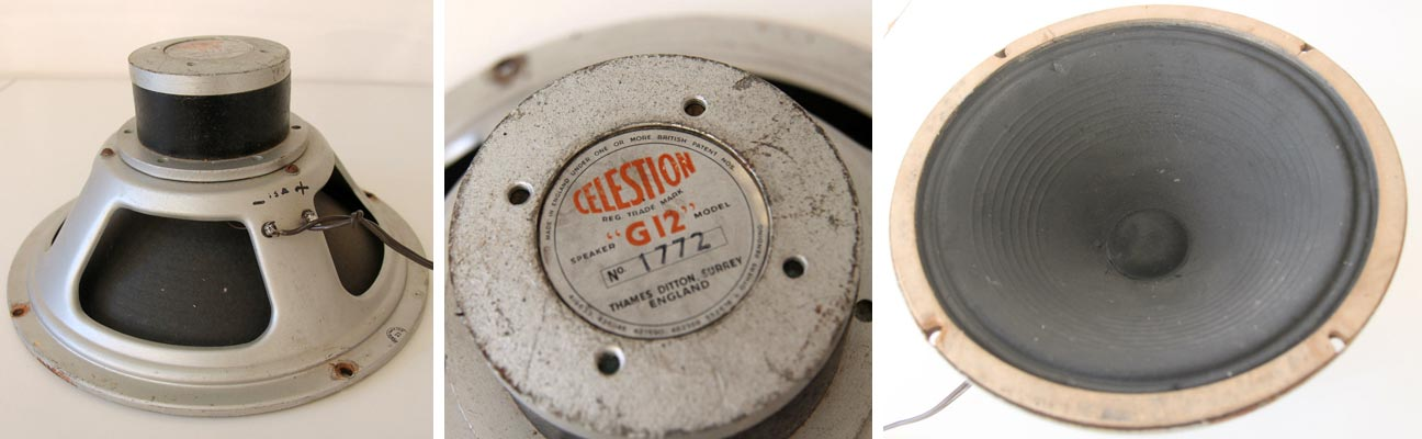 Rola Celestion P74 alnico 1772 unknown date