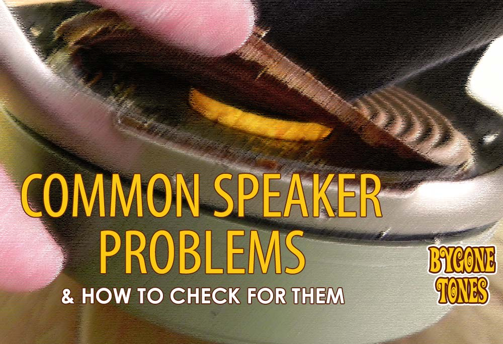 Common Speaker Problems & How To Check For Them