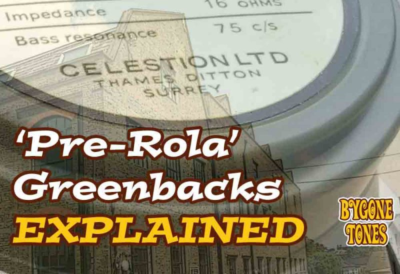 'Pre-Rola' Greenbacks Explained