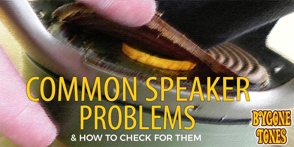 SpeakerProblems