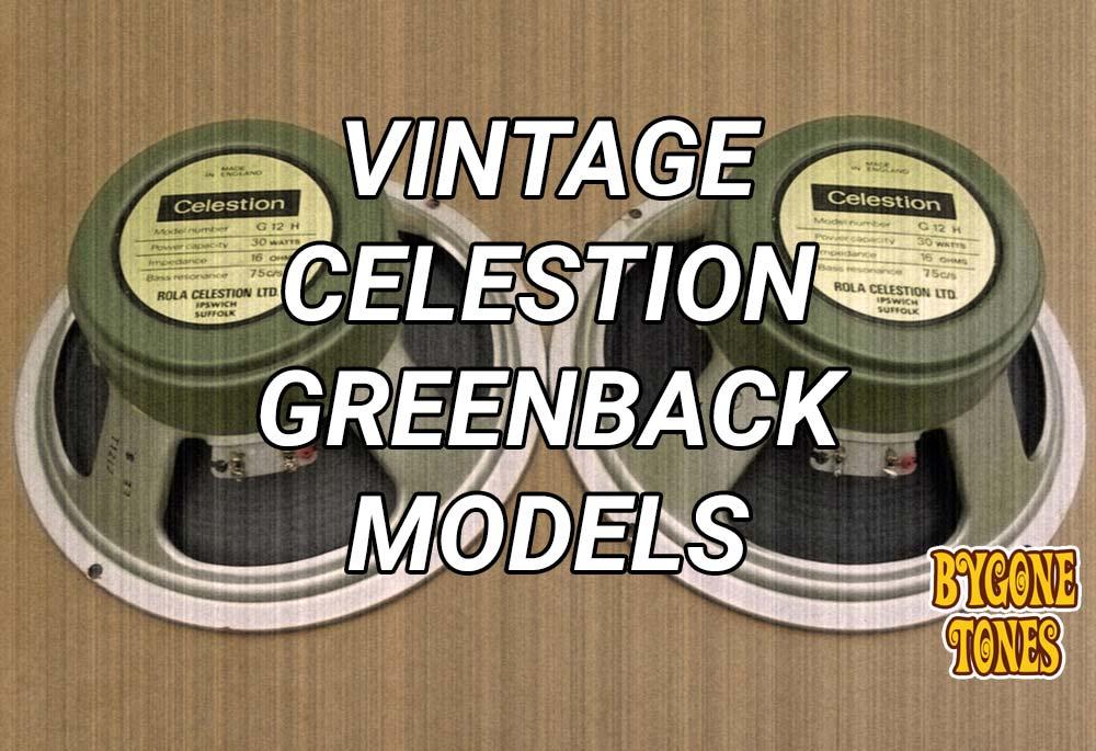 VintageGreenbackModels